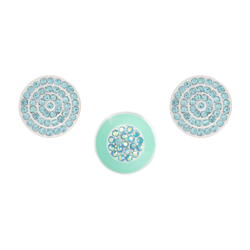 Aqua Gleam Dot Set